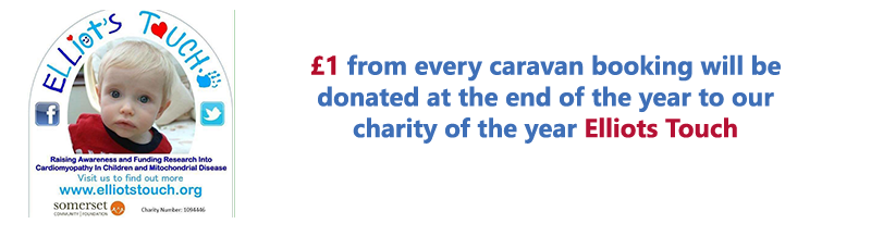 The Caravans at Doniford Bay Charity of the year