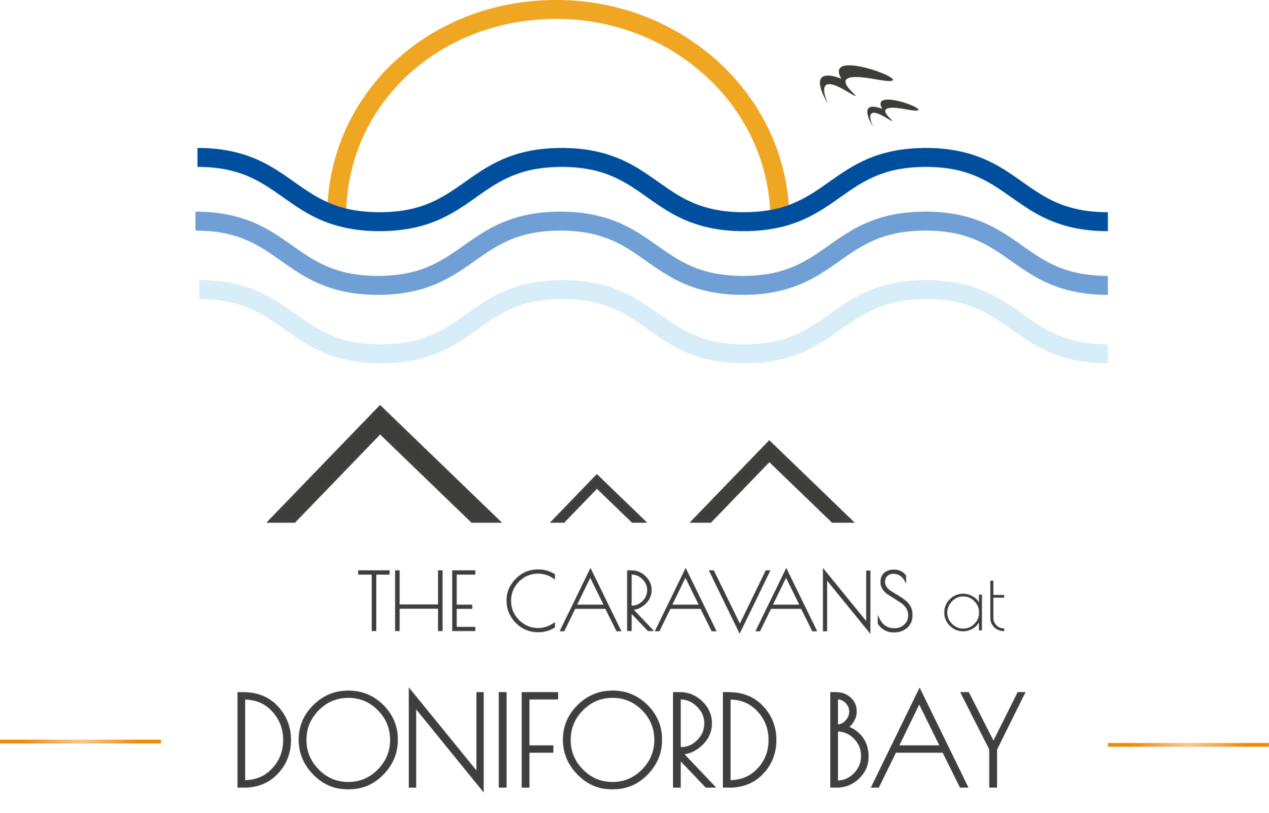 The Caravans at Doniford Bay